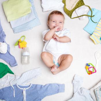 Kako adekvatno obući bebu